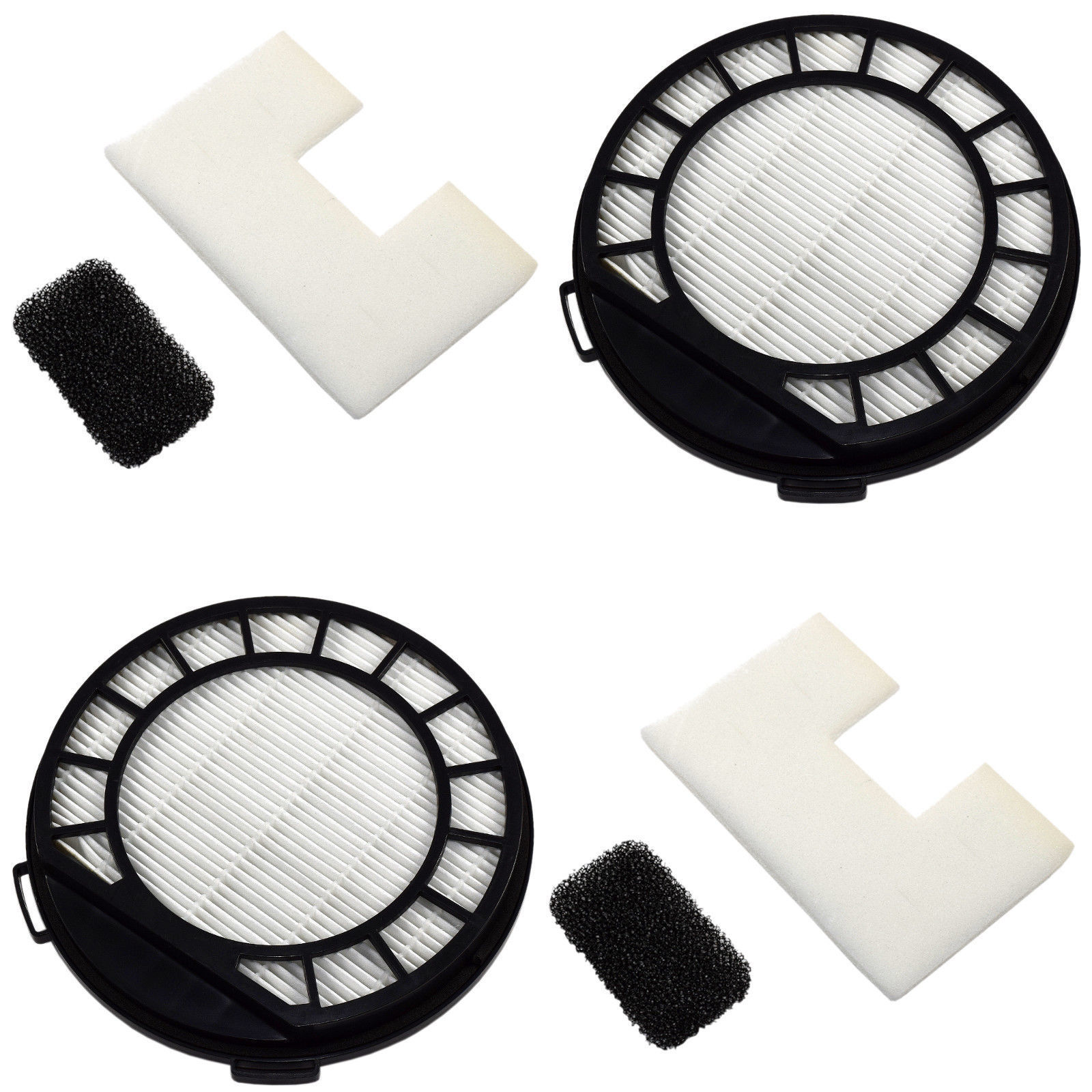 2-Pack HQRP Pre-Motor &HEPA Filter for Vax Power VX C87PVXP C87VCB V2000C C86VCB - $22.59