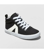 Girls' Quincey Sneakers - Cat & Jack™ Black 3 - $6.24