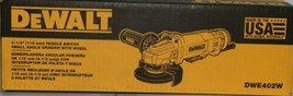 DeWalt DWE402W Paddle Switch Small Angle Grinder with Wheel Corded USA Made image 2