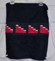 Native American Seminole Patchwork Back Pack Book Bag Alligator Tracks H... - $49.99