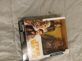 DISNEY STAR WARS CHEWBACCA & HANS SOLO ACTION FIGURES - $30.68