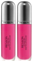 2 x Revlon Ultra HD Matte Lipcolor - 605 Obsession - 2 Total - $14.29