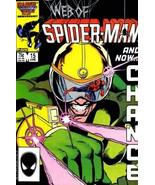 "Web of Spider-man Issue 15 June 1986""Fox Hunt"" VF/NM Condition - $7.83"