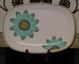 "Noritake China UP-SA Daisy 13.5""x9.5"" Oval Serving Platter Japan Vintage... - $44.54"