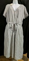 Womens Light Grey Casual Comfy Romper, Extra Large, Pockets, Great for S... - $11.49