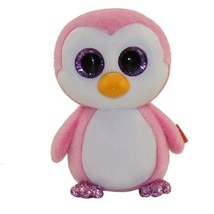 Ty Beanie Boos - Mini Boo Figures Series 3 - GLIDER the Pink Penguin (2 inch) - $6.85