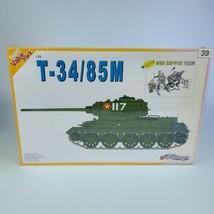 Dragon 1:35 Value Pack Series NVA T-34/85M & Sapporo Team Plastic Model Kit - $39.59