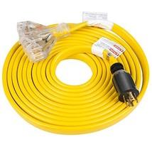 25 Feet Heavy Duty Generator Extension Cord,Generator Locking cord,NEMA ... - $63.41