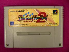 Parlor 2 Pachinko (Nintendo Super Famicom SNES SFC, 1995) Japan Import - $3.68