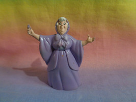 Vintage 1992 Mattel Disney Cinderella Once Upon a Playset Fairy Godmother as is - $1.27