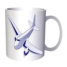Blue Plane Pilot Funny Vintage Retro 11oz Mug d793 - $203,52 MXN