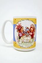 Having Tea With Friends Brightens Any Day Ceramic Coffee Mug - $10.95