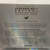 Glow Recipe Avocado Melt Retinol Sleeping Mask BNIB + RETINOL EYE SLEEPING 5mL image 5
