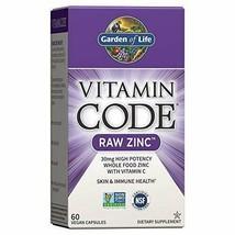 Garden of Life Zinc Vitamin - Vitamin Code Raw Zinc Whole Food Supplement wit... - $13.44