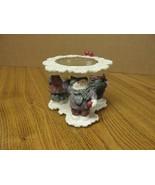 Vintage Christmas candle holder - 3 children - $10.88
