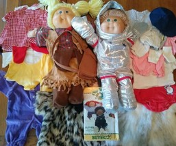72 Cabbage Patch Kids Prototype Doll Outfits For Butterick Patterns C. 1983-1988 - $1,282.05