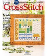 Just Cross Stitch March/April 2017 magazine iss... - $6.99