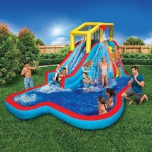 Inflatable Pool Water Slide Bounce House Commercial Bouncer Park Fun Swi... - $494.01