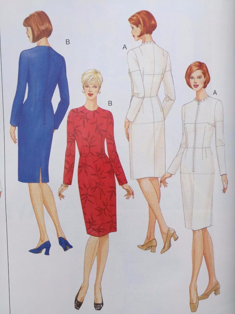 Size 16 BUTTERICK PATTERNS B5627 Misses Fitting Shell