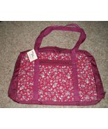 Windsor Wood Large Burgundy Quilted Project pak tote - $20.00