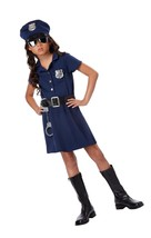 California Costumes Police Officer Child Costume, Large One Color - $26.02