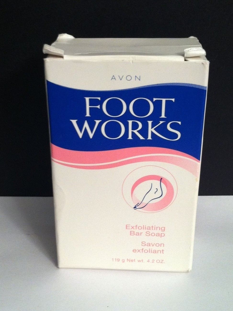 Avon footworks exfoliating foot bar soap