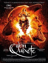 The Man Who Killed Don Quixote Movie Poster Adam Driver Film Print 27x40... - $9.89+