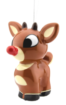 Hallmark Rudolph The Red-Nosed Reindeer Decoupage Christmas Ornament New w Tag
