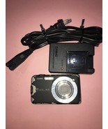 Casio Exilim 10.1 Megapixel Digital Camera Model EX-S10A Black, needs ba... - $25.74