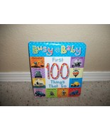 Busy Baby First Words Board Book 100 Things That Go - $2.00
