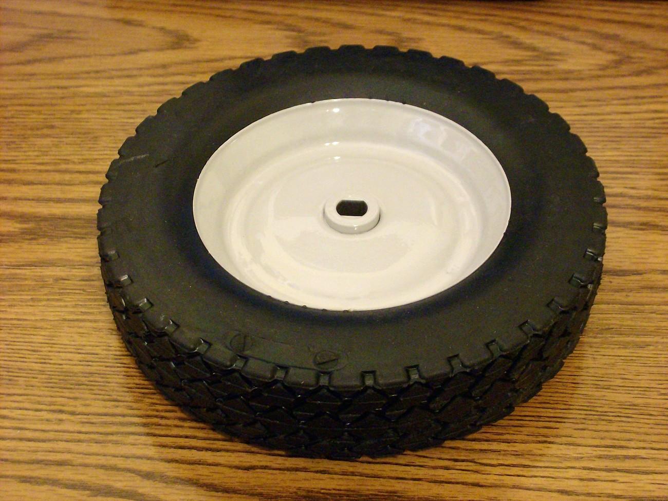 Troy Bilt self propelled front steel tire wheel 1762021