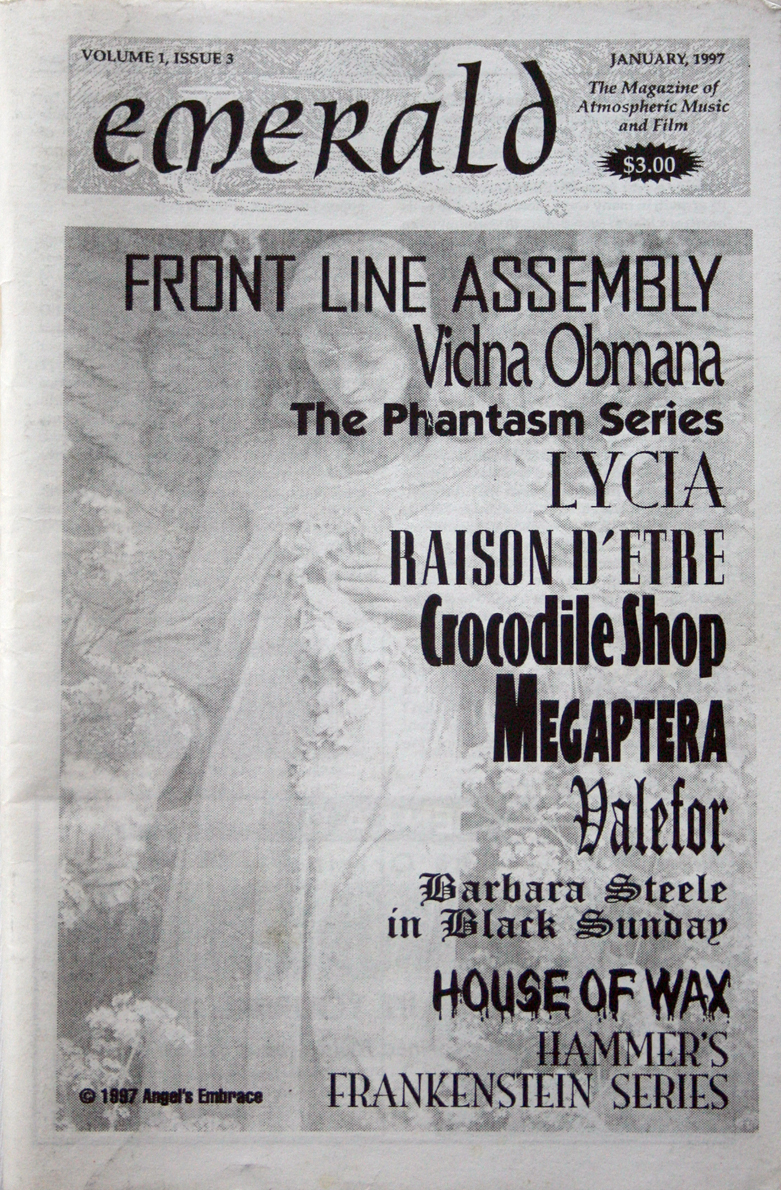 1997 Industrial Music DIY Zine - Frontline Assembly Lycia