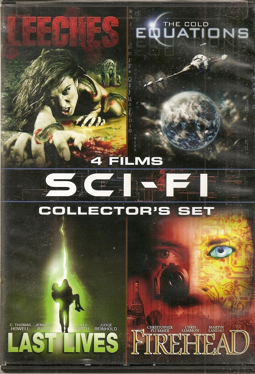 dvd--4 film Sci-Fi Collector's Set, Vol. 4