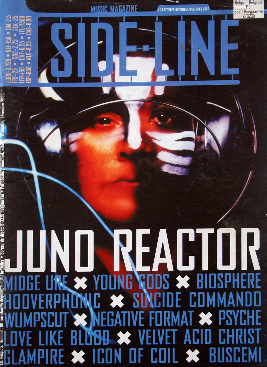 Primary image for 2000 SIDE-LINE Magazine Juno Reactor,Wumpscut,VAC +