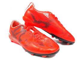 ADIDAS Jr F10 FG Solar Red/White/Core Black B39900 - Size 1.5 Youth Boys... - $39.19