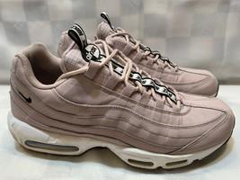 NIKE Air Max 95 SE Pull Tab Men's Shoes Size 12 Rose AQ4129-600 - $103.94