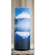 Large/Adult 200 Cubic Inch Mountain Lake Scattering Tube Cremation Urn f... - $124.99