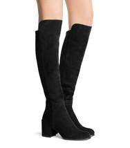 $765 Stuart Weitzman Alljack 5050 Over Knee Boots Black  Suede  Booties ... - $399.95