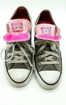 !*Converse All Star Gray Double Tongue - Womens 8  Low Top    1008 - $17.98