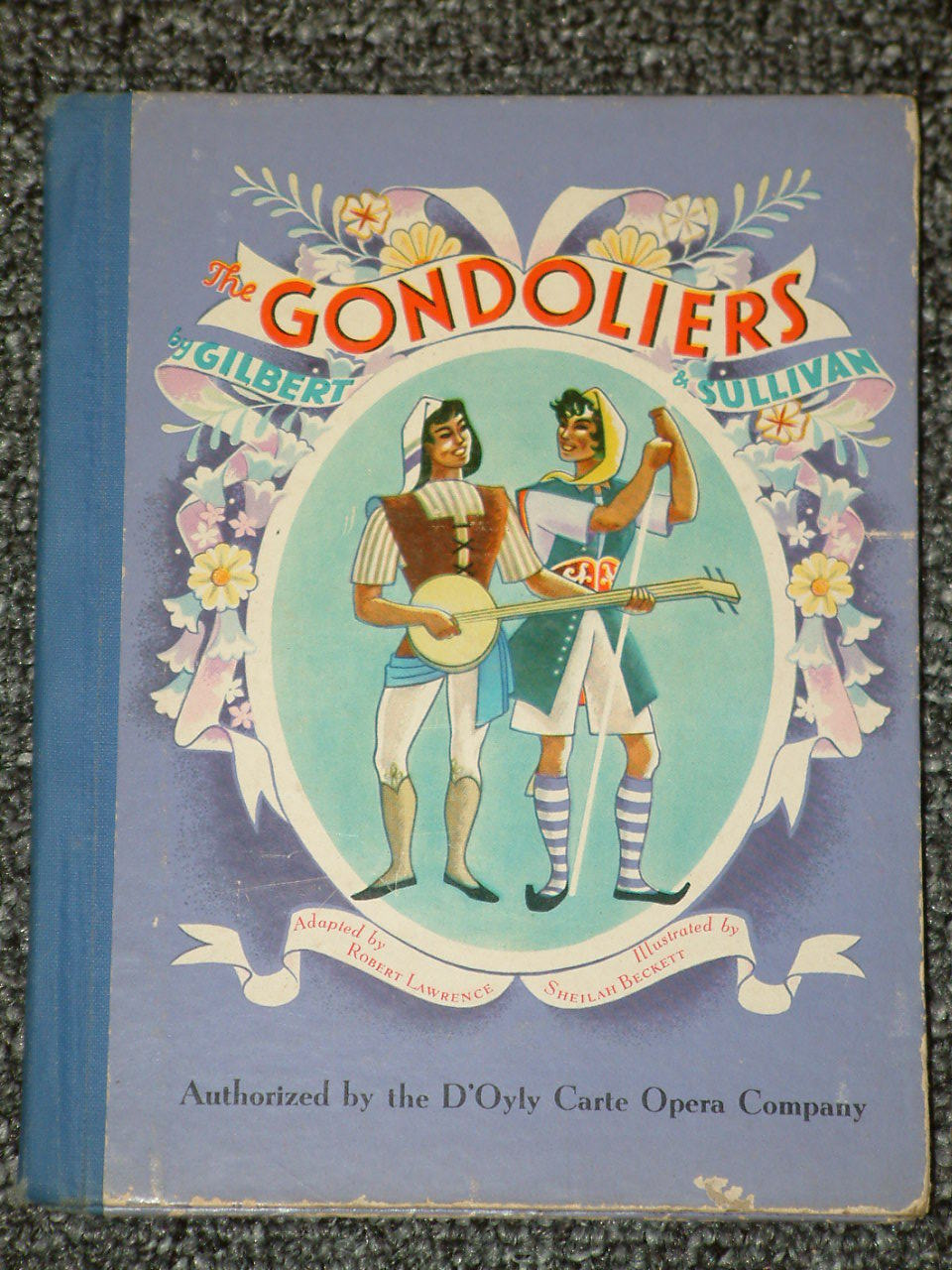 Primary image for The Gondoliers by Gilbert and Sullivan 1940
