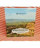 Tuscany Collection 4 Pack BUBBLE BATH BOMB Boxed Gift Set Fizzies Relaxi... - $14.84