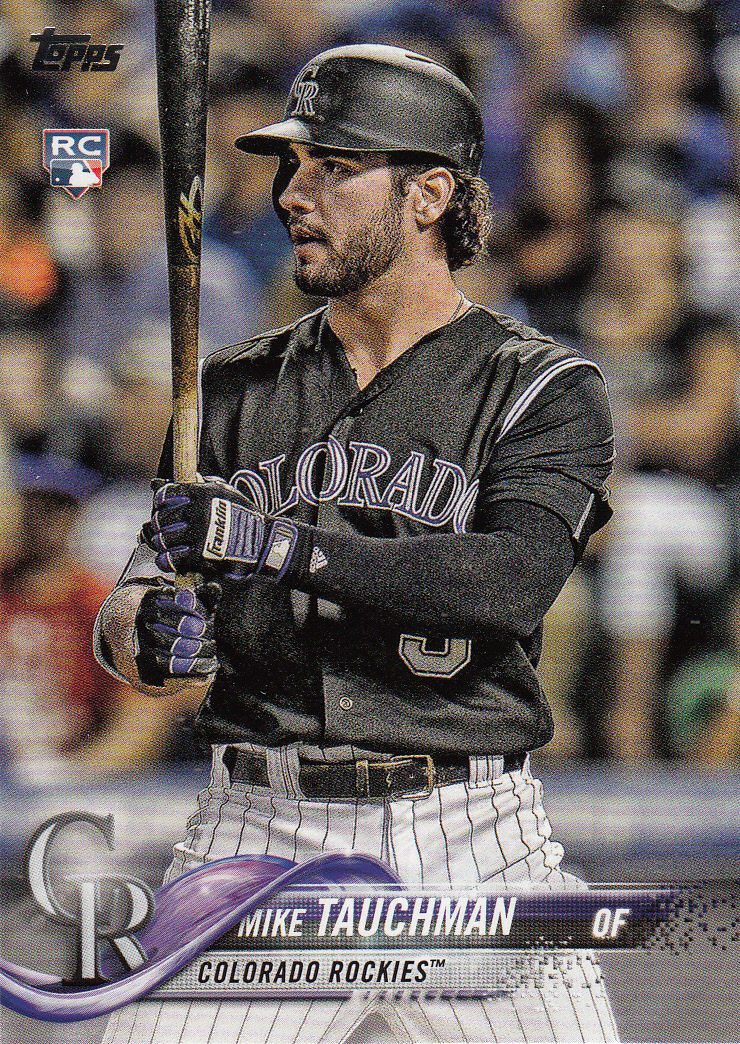 Mike Tauchman 2018 Topps Update Rookie Card #US61