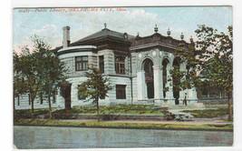 Library Oklahoma City Oklahoma 1907 postcard - $5.94