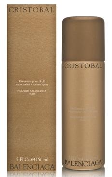 Cristobal Balenciaga Perfume 5 oz Deodorant Spray Bath Body Fragrance WOMEN NIB