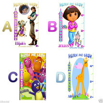 Dora, Boots & More -Personalized- Growth Chart Banner -U Pic - $34.95