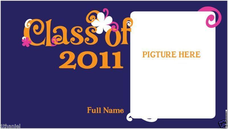 Graduation -Personalized- Custom Banner -U Pick-