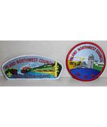 Lot 2 BSA Boy Scout Inland Northwest Council Patch CSP - $6.89