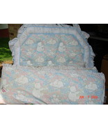 Baby Nursery Bedding Crib Bumper Pads Sheets Diaper Stacker - $49.99