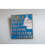 NRA Front Line Fighter for McClure Volkmer Pin - $5.49