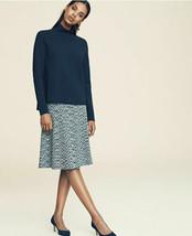 Ann Taylor Spacedye Flared Knit Skirt, Grey Space Dye, Rayon Lycra, NWT - $65.00